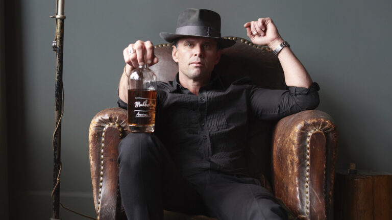 Walton Goggins Has a Thing for Whiskey