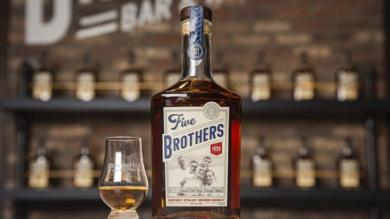 Heaven Hill Five Brothers, George Dickel 8 year old Bourbon, and More [New Releases]
