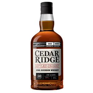 Cedar Ridge Bottled in Bond Bourbon (Batch 3)