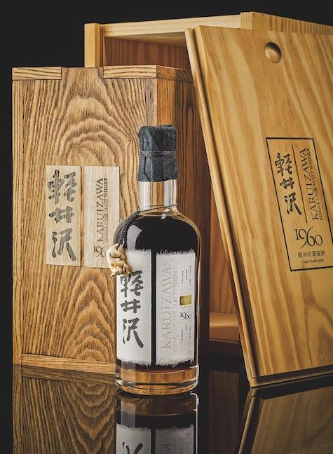 Rare bottle of Japanese whiskey
