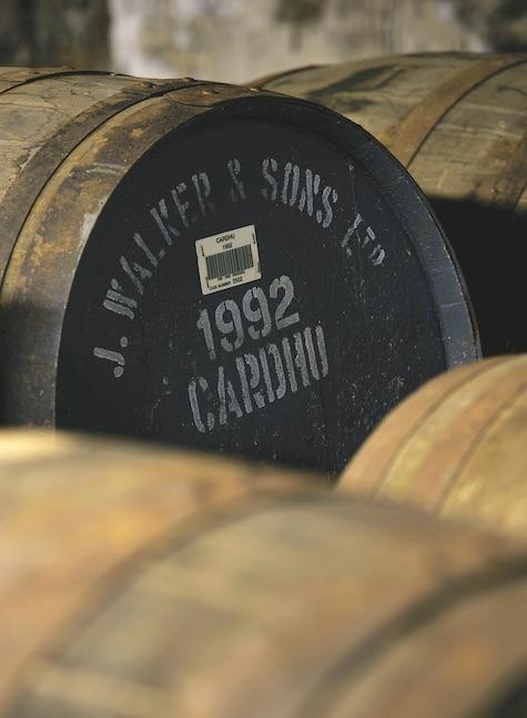 Barrels of Cardhu