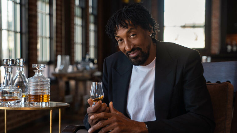 Scottie Pippen Finds a New Lane With Whiskey