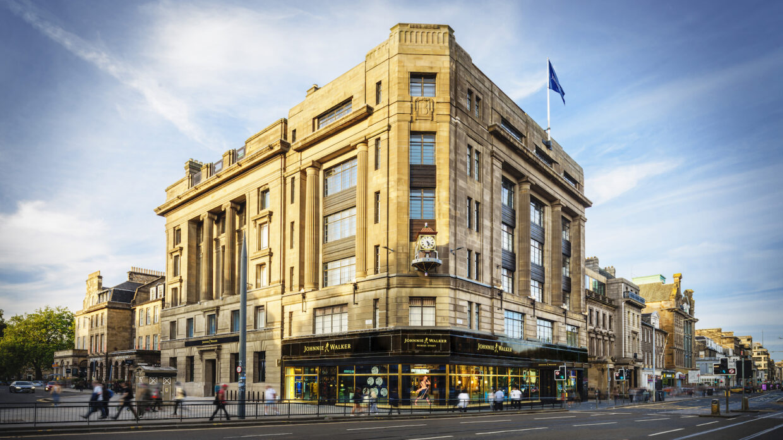 Exterior of a building in Edinburgh