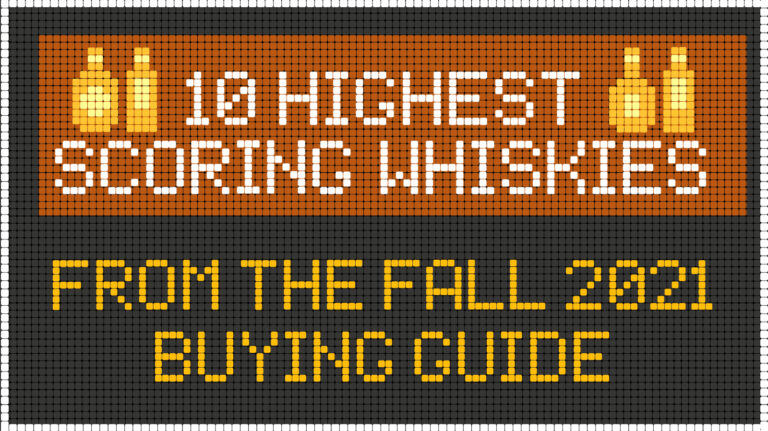 10 Highest-Scoring Whiskies in the Fall 2021 Buying Guide